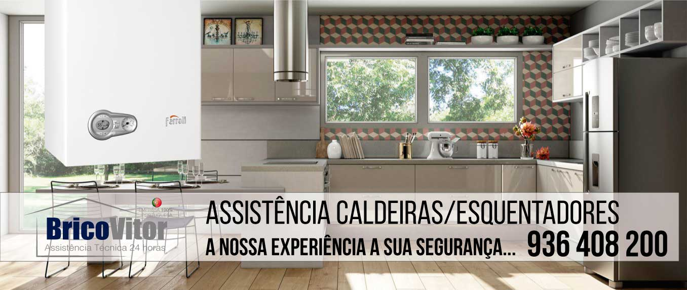 Reparação Caldeira Ferroli Portimão